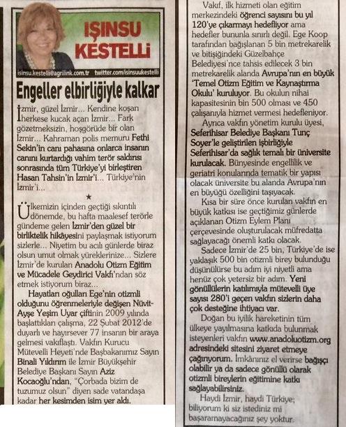 IŞINSU-KESTELLİ-POSTA-EGE-09.10.2017-